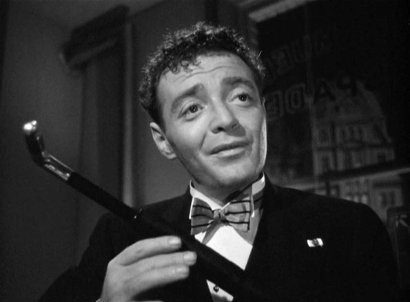 Peter Lorre in the Maltese Falcon